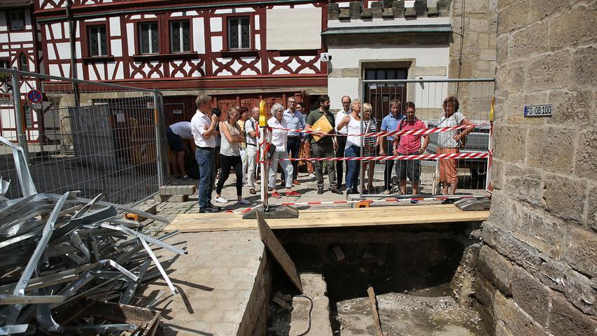 Forchheim: So sieht das nackte Rathaus von innen aus