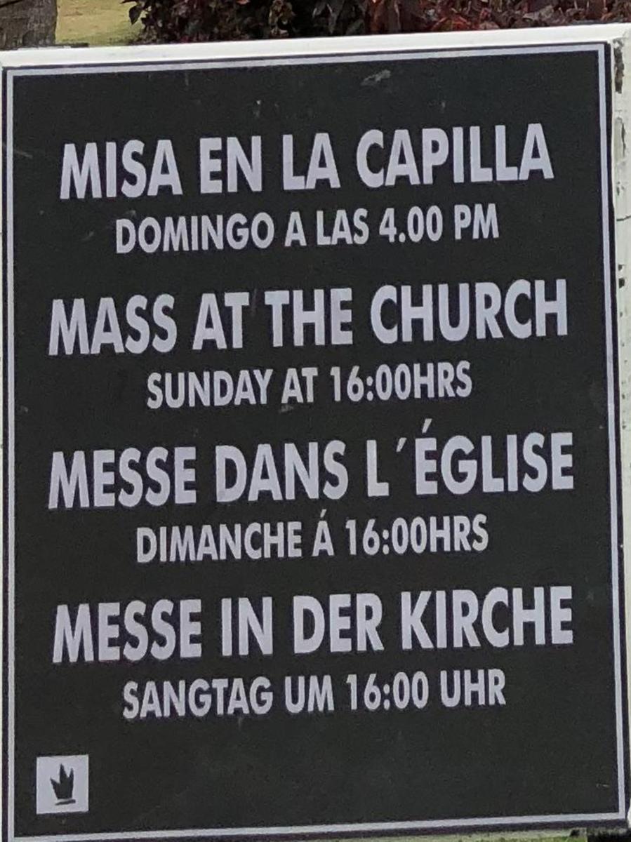 Gesehen in der Dominikanischen Republik.
