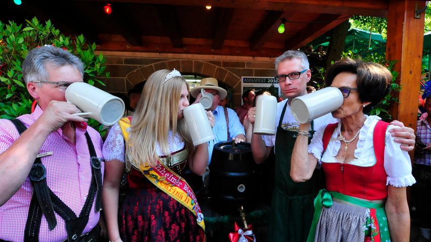 Forchhheim..Annafest 2018..Anstich..Foto Roland Huber