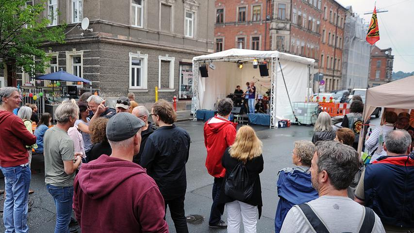 Bismarckstraßenfest Erlangen Foto: Harald Hofmann