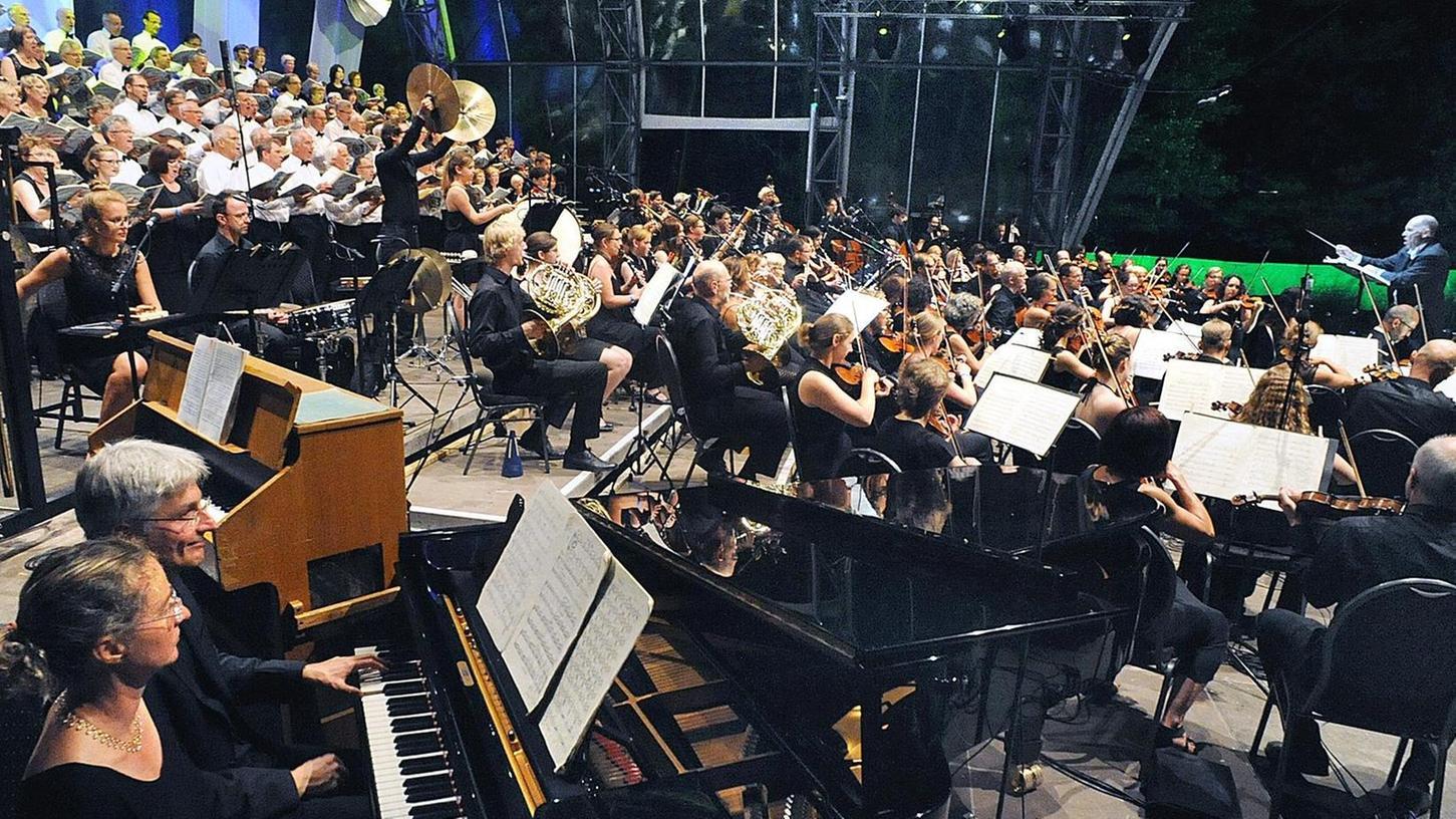 Großes Musiker-Aufgebot an einem wunderschönen Sommerabend
