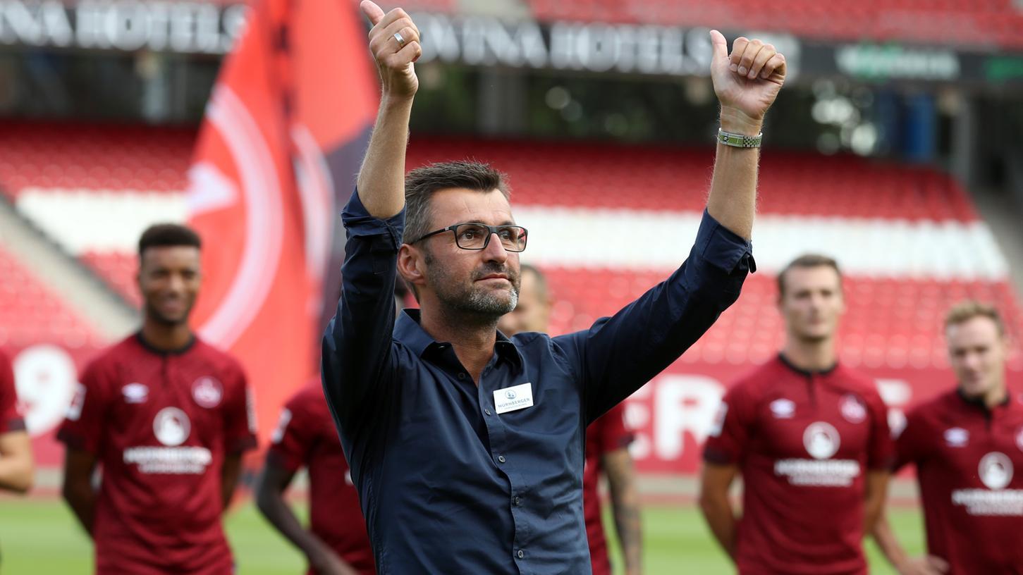 Jetzt gilt's: Am Samstag ist der Bundesligist 1. FC Nürnberg erstmals in einem Pflichtspiel gefordert.
