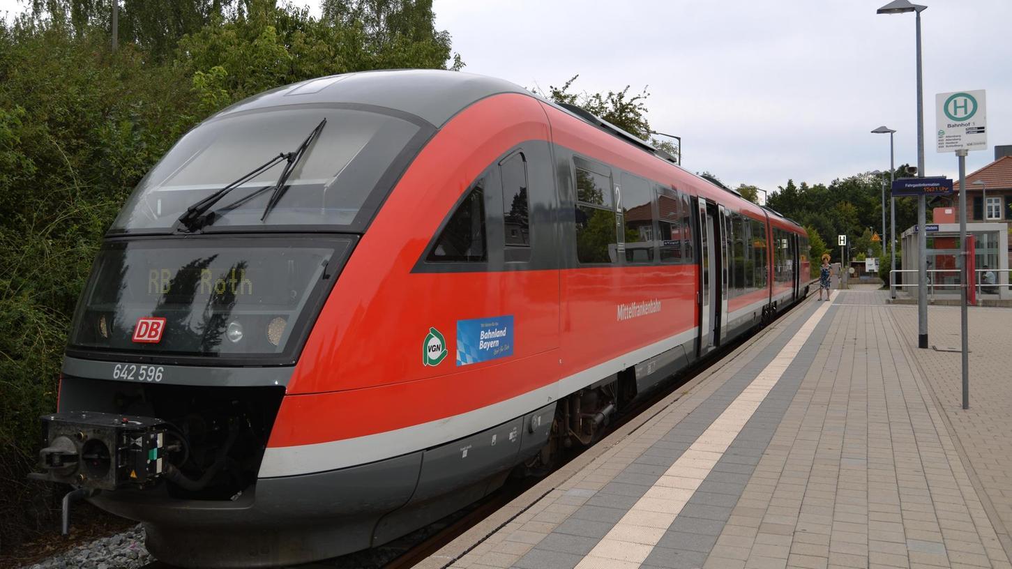 Mit dem Fahrplanwechsel im Dezember wird die Gredl öfter zwischen Hilpoltstein und Roth fahren, abends bis 22 Uhr.