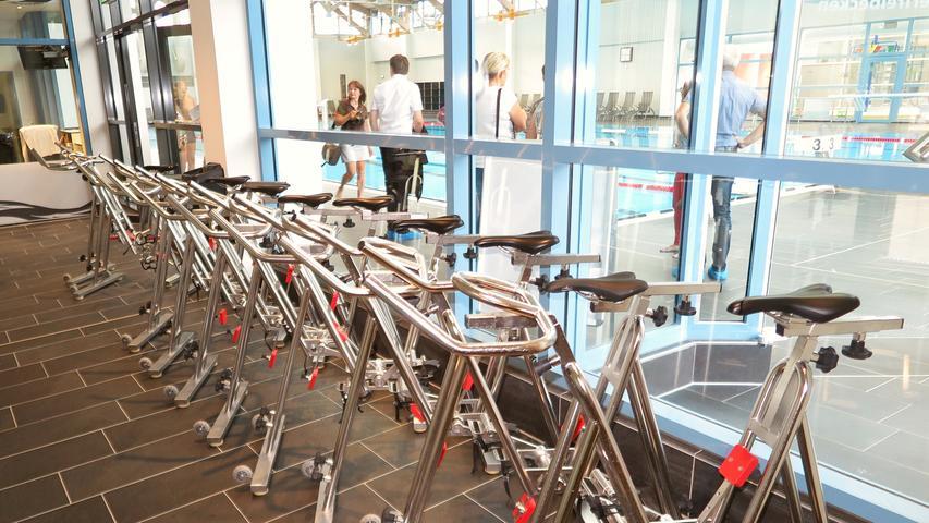 Keine herkömmlichen Fahrräder, sondern die Ausrüstung fürs