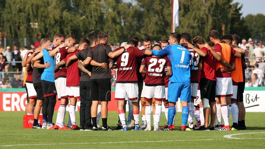Fakt ist: Mit so einer Leistung darf sich der Club am kommenden Samstag in Berlin nicht präsentieren, sonst droht die erste Niederlage in der neuen Bundesliga-Saison.