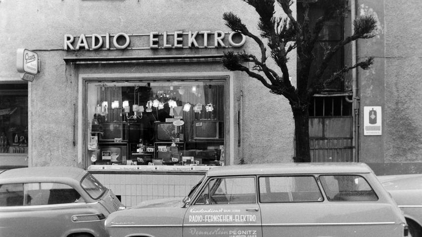 Elektro Dennerlein wurde einst in der Kettengasse gegründet und war danach viele Jahre in der Hauptstraße beheimatet.