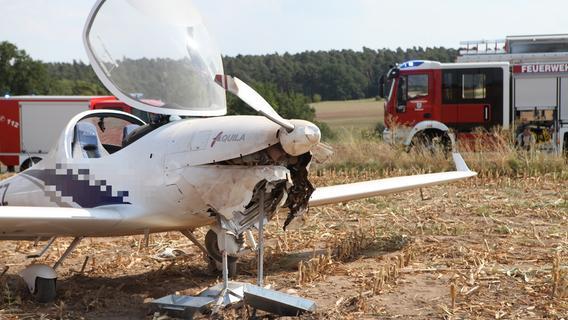 Notlandung im Acker: Defekt holt Motorflieger vom Himmel