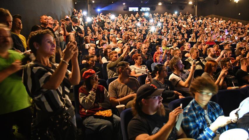 Auch im Inneren des Cinecitta drängten sich die Fans. Der neue Film