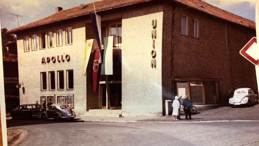 Ein Blick auf das Kino vor rund 50 Jahren: Damals noch ohne integriertem Café.