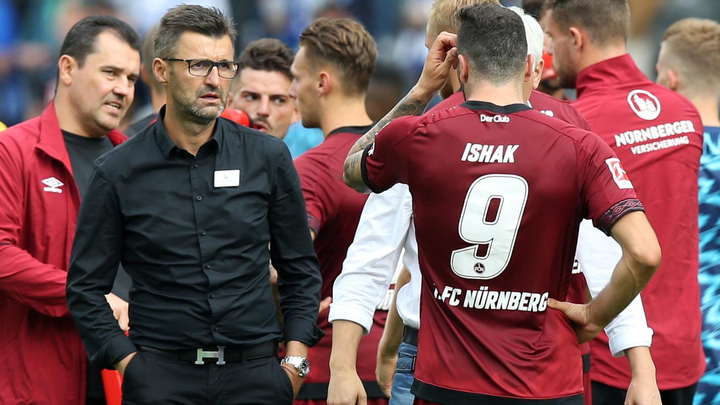 Für den 1. FC Nürnberg geht's in der zweiten Runde des DFB-Pokals gegen Hansa Rostock.