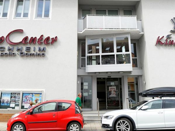 Das Kino Forchheim 2018: Im Laufe der Jahre hat sich der Komplex innen wie außen verändert. 2001 wurde das Foyer renoviert.