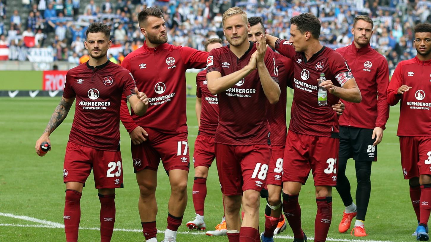 Eine unglückliche 0:1-Niederlage leistete sich der 1. FC Nürnberg zum Auftakt der Bundesliga-Saison bei Hertha BSC.