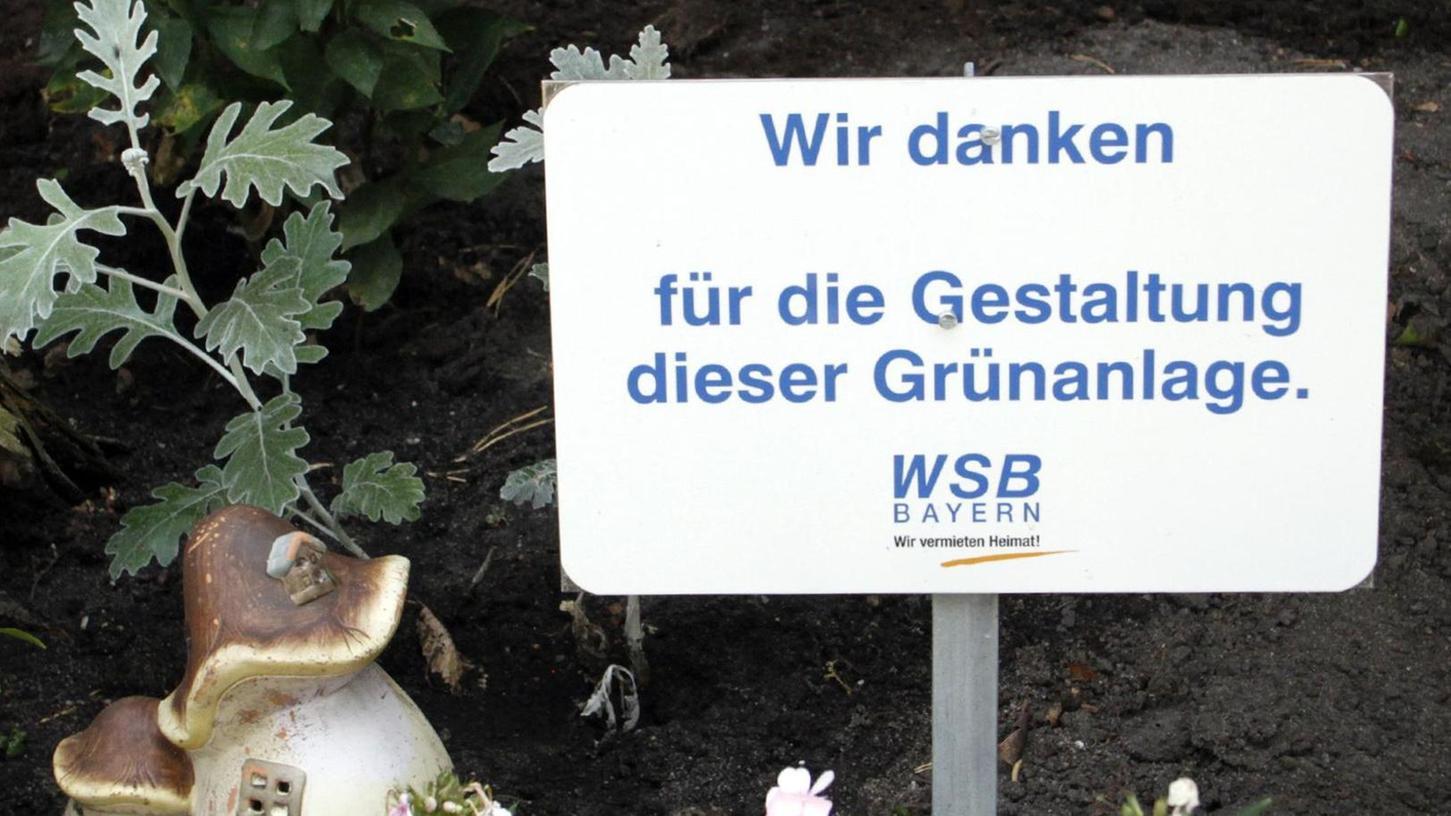 Lob muss sein, denkt sich wohl auch die WSB Bayern, und bedankt sich auf ihre Weise bei der fleißigen Gärtnerin.