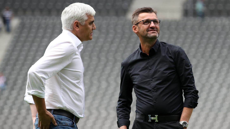 Andreas Bornemann und Club-Coach Michael Köllner arbeiten bei der Suche nach Neuzugängen Hand in Hand.
