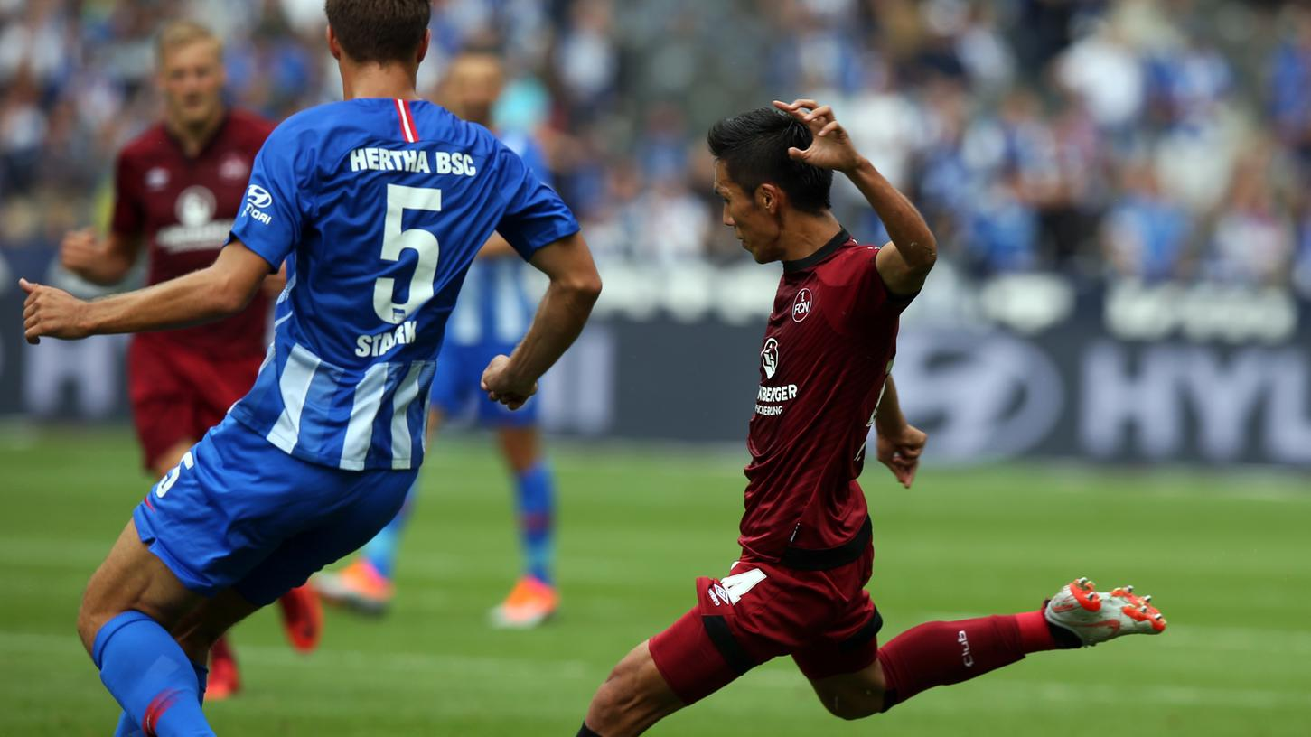 Kann Yuya Kubo an die gute Leistung gegen Berlin anknüpfen?