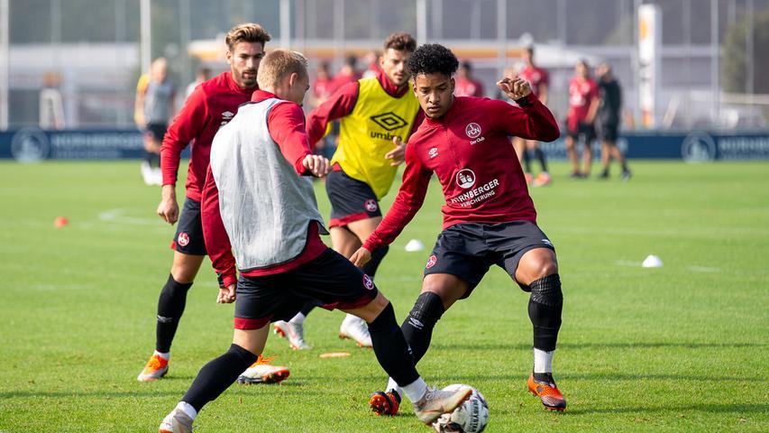 Neu beim Club: Nürnbergs Last-Minute-Zugänge trainieren mit