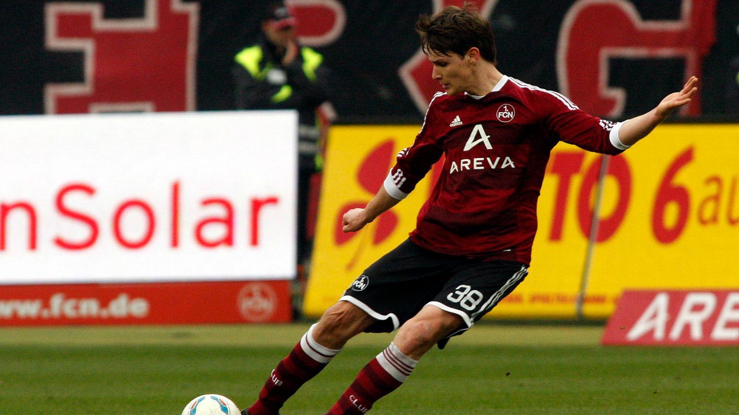 Im Jahr 2012 im Trikot des 1. FC Nürnberg aktiv: Philipp Wollscheid.