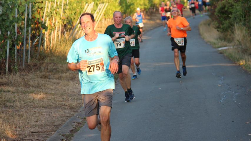 Erhard Wolf von den Lauffreunden Oberntief ist regelmäßig beim Weinberglauf zu Gast.
