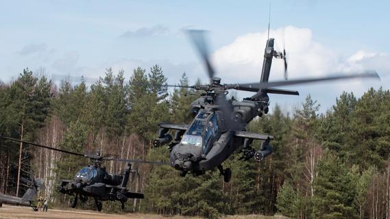Auch nachts: Manöver der US-Streitkräfte in Westmittelfranken