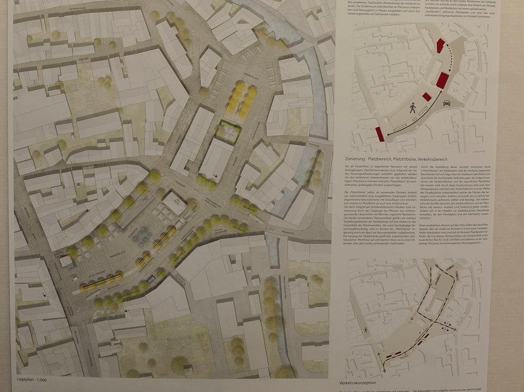 Forchheim Paradeplatz..Umgestaltung des..Paradeplatz in Forchheim..Vorstellung der Siegerentwürfe..Foto Roland G.Huber