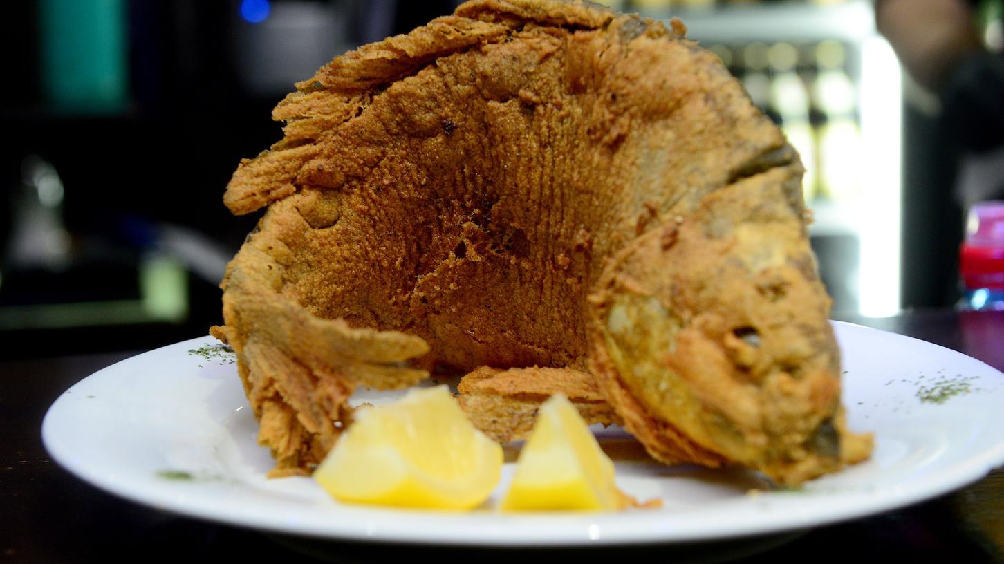 Der fränkische Karpfen, gebacken oder blau, ist Tradition und Kulturgut.