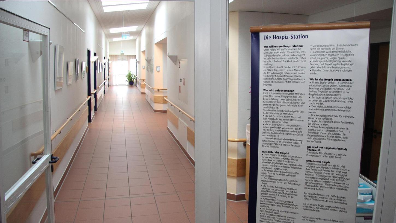 Bisher sah der Freistaat den Bedarf in ganz Mittelfranken gedeckt durch die 32 Plätze, die es in Hospizen in Nürnberg – das Bild zeigt den Blick ins Mathilden-Haus – und Erlangen gibt. Doch es bewegt sich etwas.