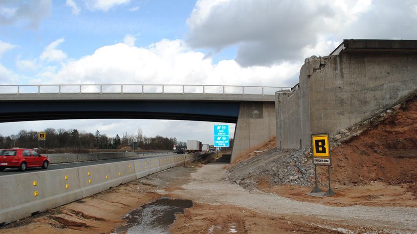 140 Millionen Euro kostet der sechsstreifige Ausbau des 6,2 Kilometer langen Abschnitts, der im Jahr 2020 abgeschlossen wurde.