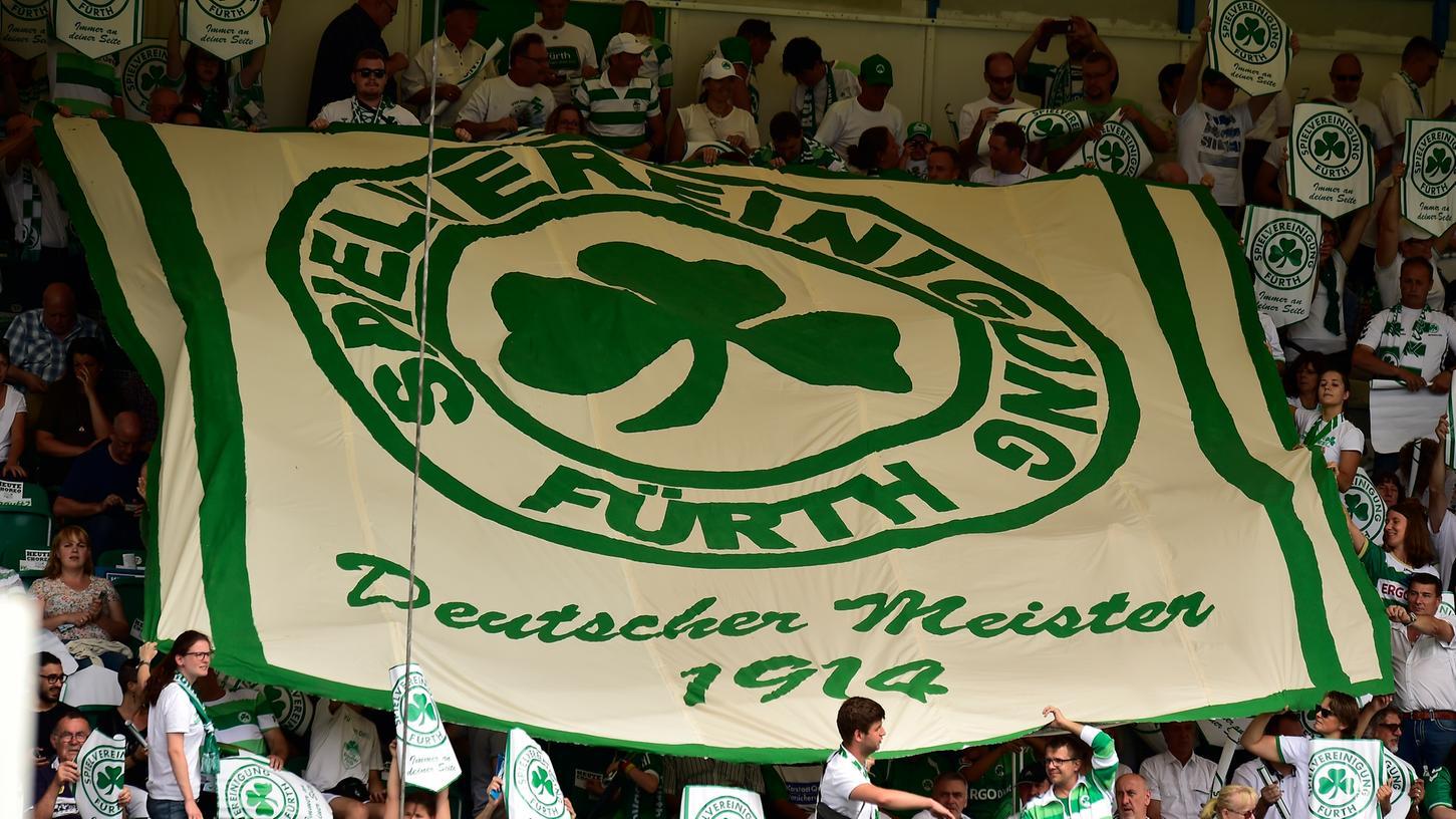 Abnehmen mit der SpVgg Greuther Fürth - eine Aktion mit ernstem Hintergrund.