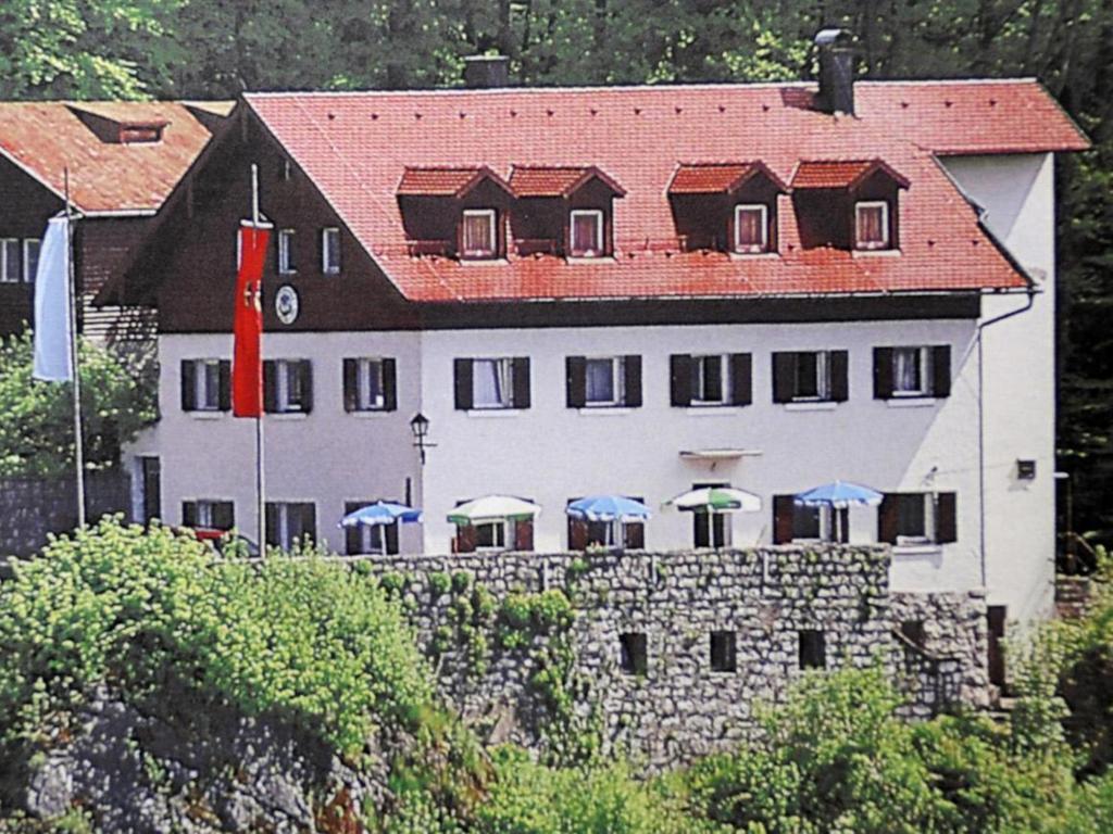 Das verkaufte Naturfreundehaus in Veilbronn.