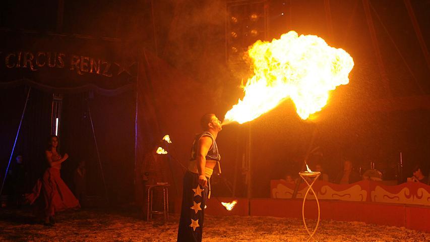 Spektakuläre Show in Höchstadt: Der erste Abend von Circus Renz in Bildern