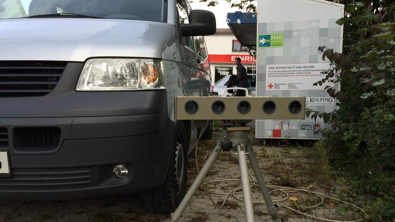 Künftig wird es öfter blitzen im Stadtgebiet Neumarkt - hier eine Geschwindigkeitskontrolle der Polizei in Stauf.