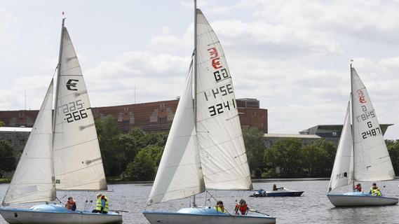 Der Yacht-Club Noris (YCN) gehört zu den größten in der Region.