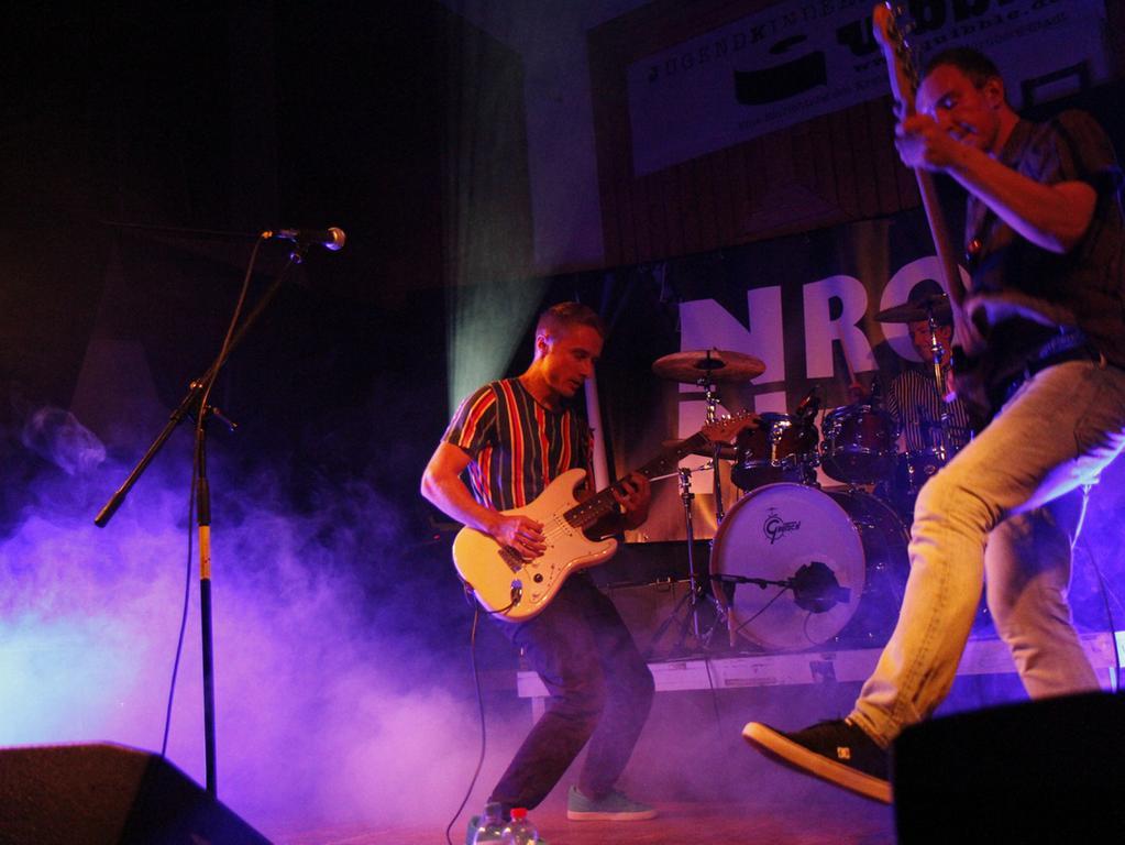Letzte Vorrunde der NN-Rockbühne: Bands kämpften um Finaleinzug, 29.9.2018, Fotos: Stefan Gnad