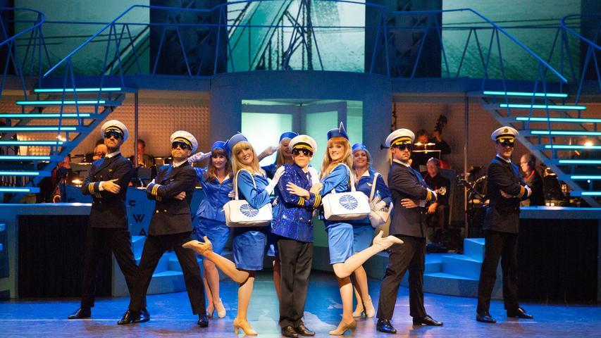 Eine Szene aus der Inszenierung des Musicals