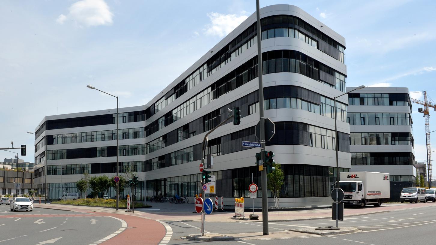 Das Gesundheitsamt ist  im Landratsamt in Erlangen untergebracht.