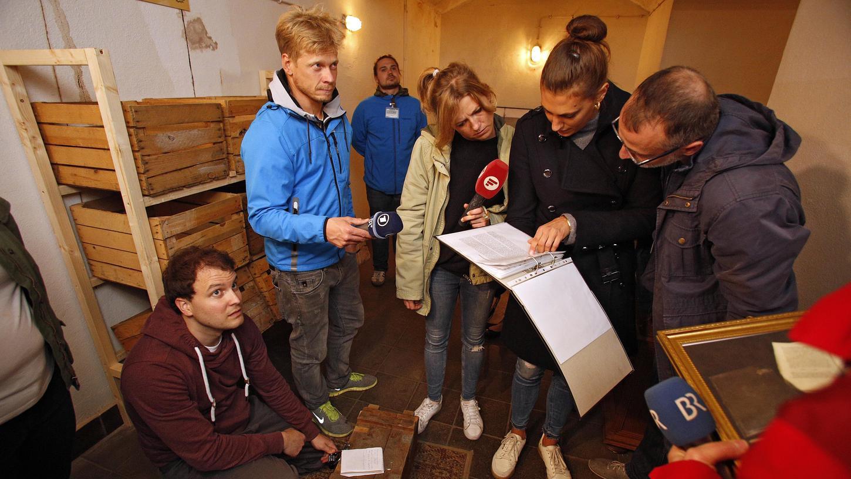 Ohne Teamarbeit geht nichts - diese Erfahrung machten auch die Journalisten beim Presse-Preview