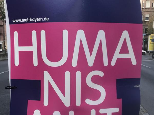 Gesellschaftliche Vielfalt, die Werte des Humanismus, soziale Gerechtigkeit – dafür steht die Mut-Partei.