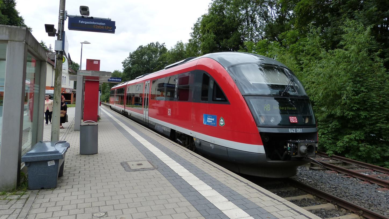 Nach großen Protesten der Bevölkerung tut sich etwas in Sachen Gräfenbergbahn.