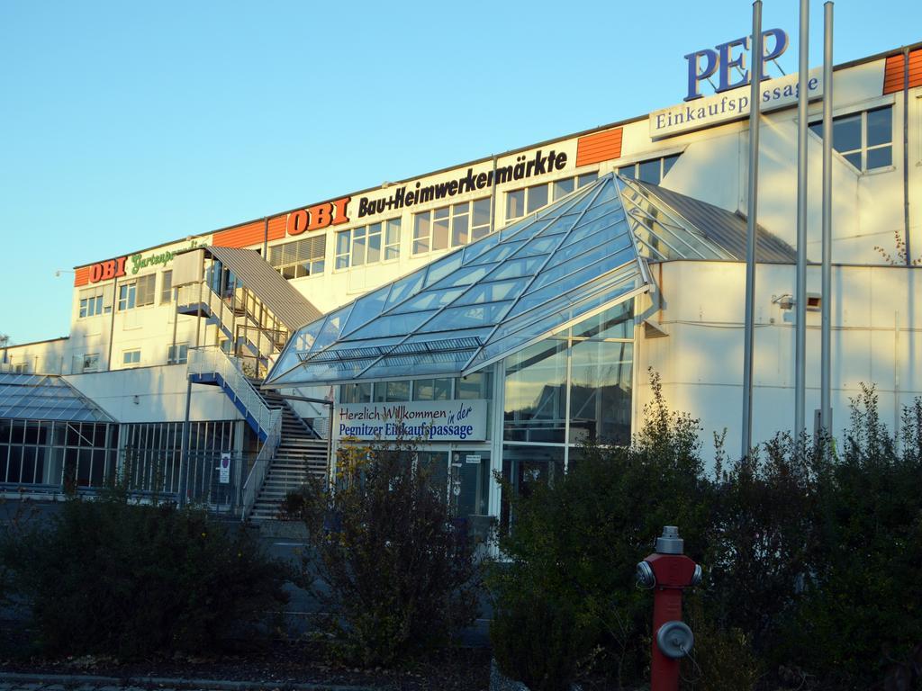 Das PEP-Gebäude soll Wohnanlagen weichen.