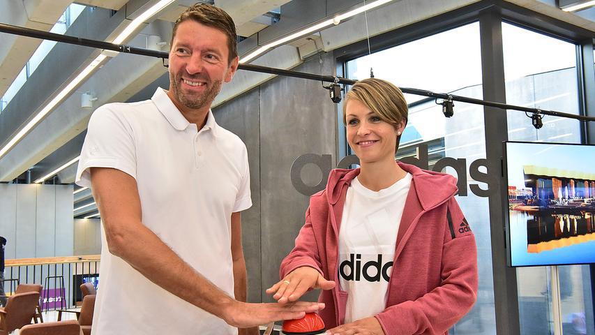 adidas Vorstellun WoKi und halftime....FOTO: Jürgen Petzoldt....Abrechnung : pauschal....Bank: FlessaBank Fürth, Iban: DE95 7933 0111 0000 4112 27