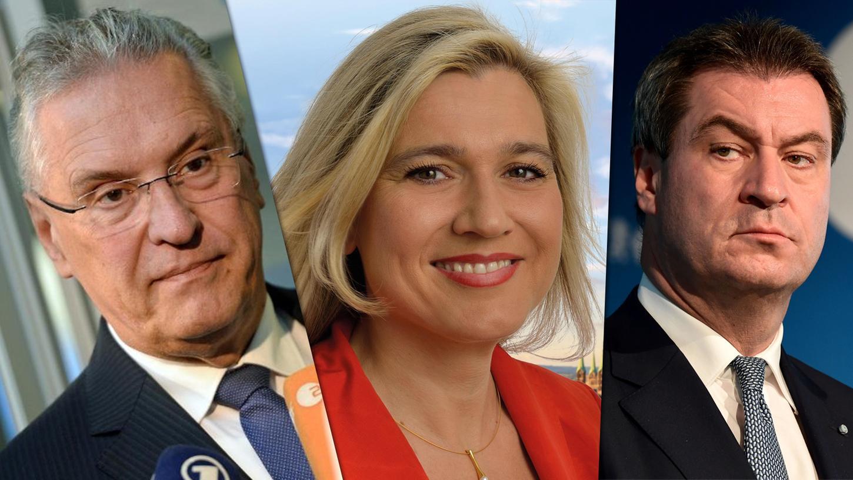 Herrmann, Huml und Söder: Das sind drei der Abgeordneten, die ein Direktmandat gewannen.