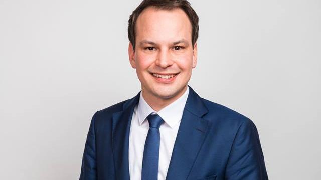 Auch er ist neues Mitglied im bayerischen Landtag: Matthias Fischbach von der FDP vertritt den Stimmkreis Erlangen-Stadt.