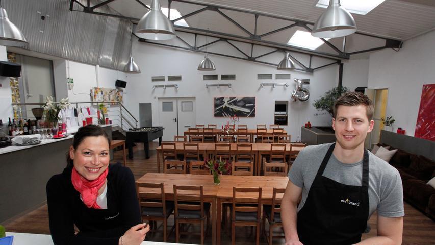 Till-Jonas Heinz hat 2012 den ess.tisch im Catering-Service ess.brand in der Gartenstraße eröffnet. Auf der Karte steht alles,
