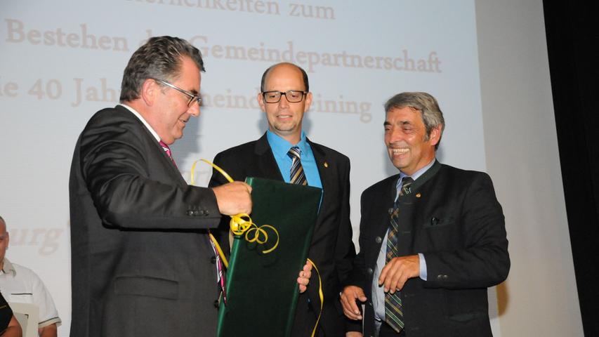Partnerschaftsfeier Deining-Eggenburg in Österreich