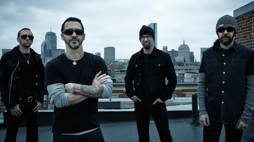 Hard Rock direkt von Boston auf die Nürnberger Bühnen. Godsmack ist bei RiP 2019 mit dabei.