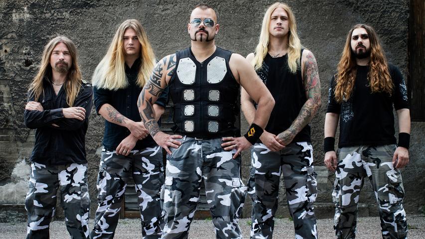 Die Schweden kommen! Sabaton tritt ebenfalls 2019 in Nürnberg auf und beglückt die Massen mit Power-Metal.