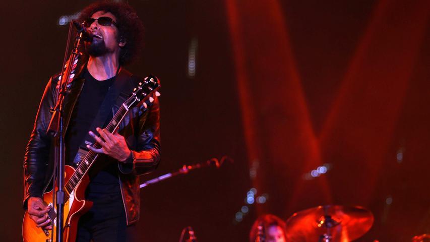 Alice in Chains zählen zu den bekanntesten und erfolgreichsten Vertretern des Grunge. Sie reisen aus Seattle an.