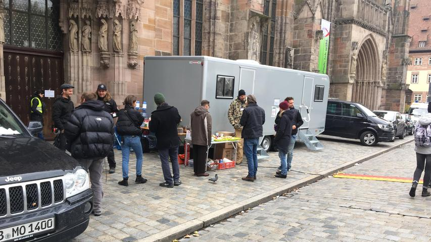 Erste Bilder: So sieht es am Hollywood-Set in Nürnberg aus