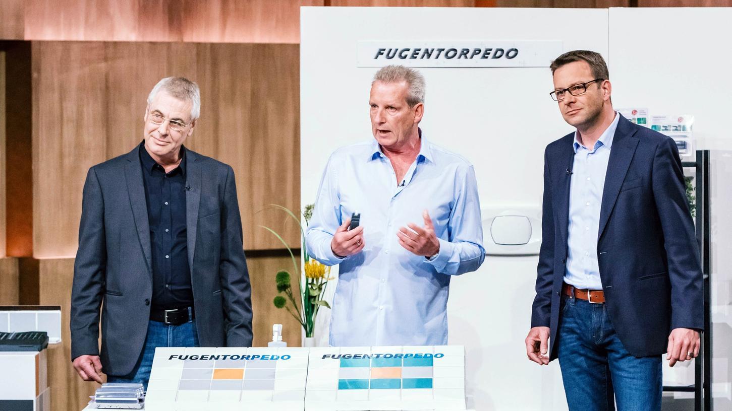 Matthias Herrnbröck, Bernd Müller und Frank Eckert (v.l.) aus München präsentieren ihren