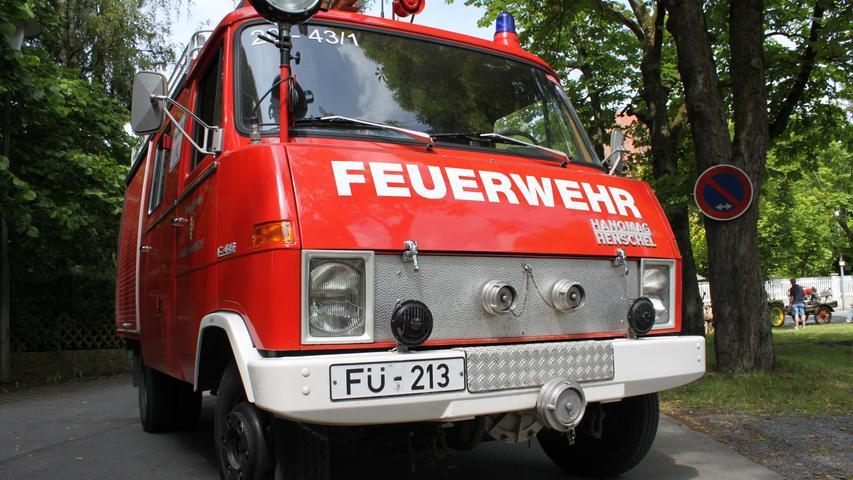 1973 hatte die Feuerwehr Ammerndorf gleich dreifach Grund zum Feiern: Das 100. Gründungsjubiläum stand an, ein neues Feuerwehrhaus konnte bezogen werden und ein neues Löschgruppenfahrzeug